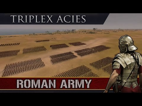 Total War History: Triplex Acies (Roman Military Tactics)