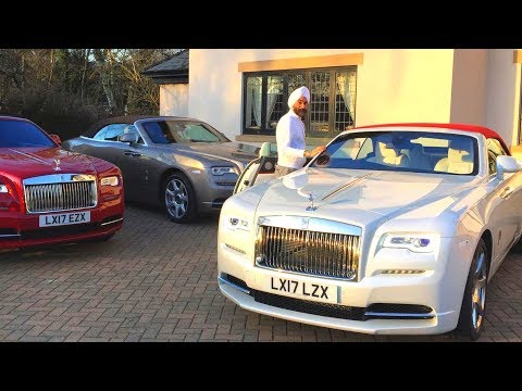 Reuben Singh Car Collection - Entrepreneur - 16 Rolls Royce