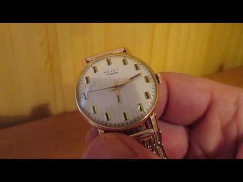 Часы золотой Полёт СССР