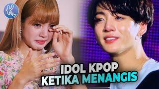 Baixar Bikin Army Dan Blink Baper! 10 Idol Kpop yang Tetap Mempesona Saat Menangis