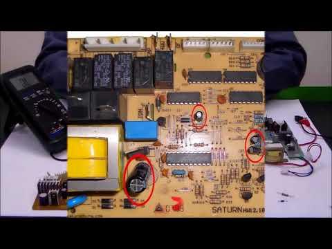 Klima Elektronik Kart Devre Elemanları Ölçümü