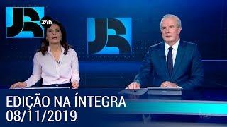 Assista à íntegra do Jornal da Record | 08/11/2019