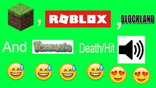 Minecraft,Roblox,BlockLand,Terraria Morte/Hit Sound