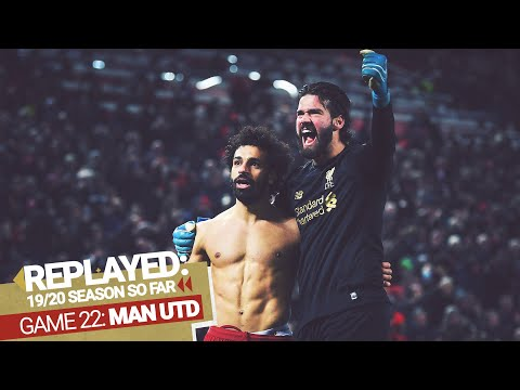 REPLAYED: Liverpool 2-0 Man Utd | Salah and Alisson combine to finish it in style