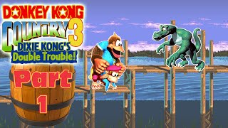 Donkey Kong Country 3 - The Coming of TTH Kiddy