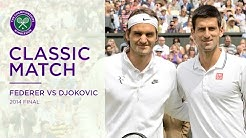 Roger Federer vs Novak Djokovic | 2014 Wimbledon Final Replayed