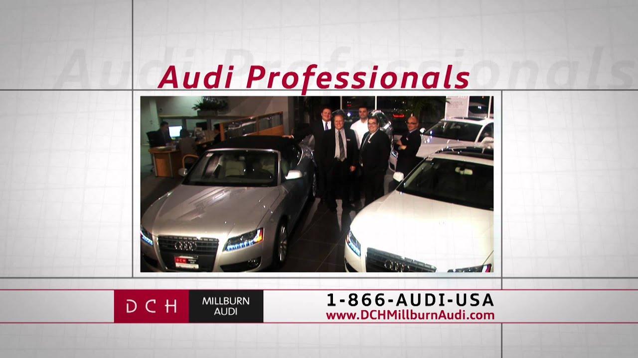 DCH Millburn Audi Exhilarating YouTube - Dch audi