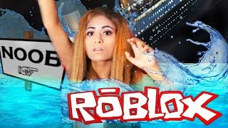 I GOT LOST IN THE TITANIC!! | Roblox Titanic Roleplay