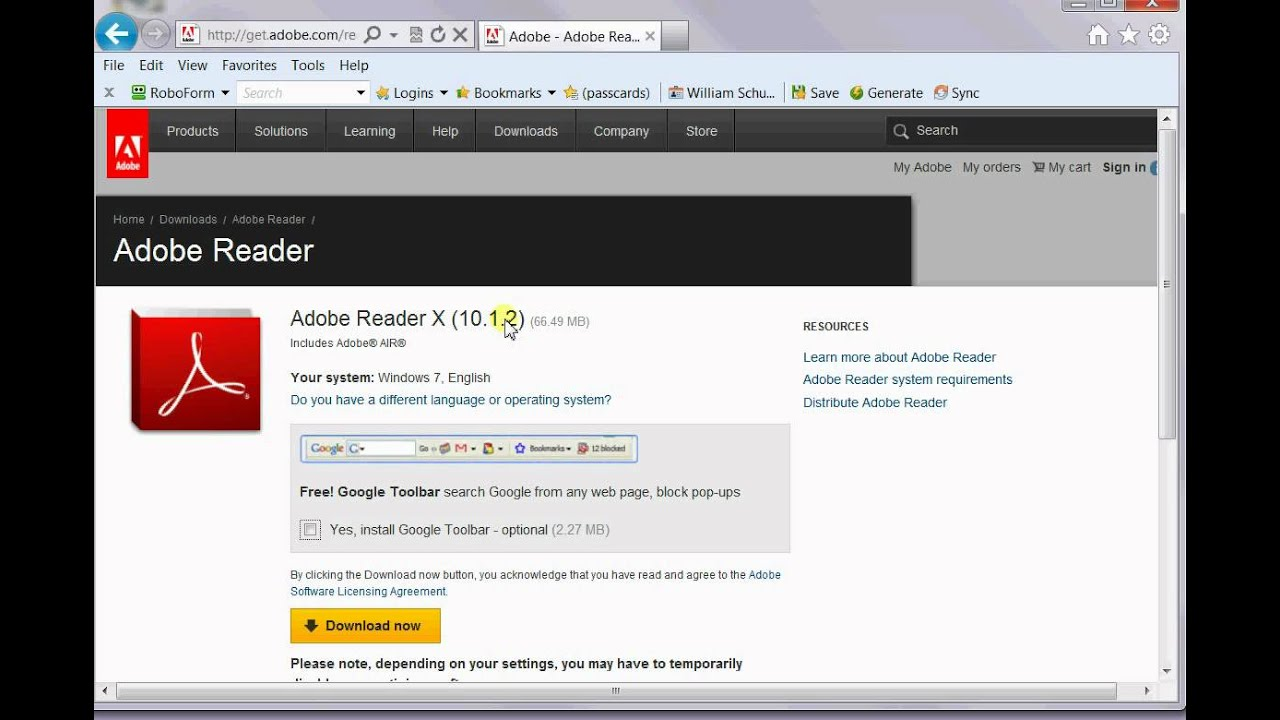 how to open adobe reader