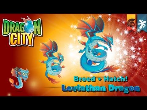 [Dragon City] ผสม + ฟักไข่มังกรอำนาจแห่งท้องทะเล Breed + Hatch Leviathan Dragon   amSiNE