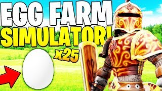 CAN ROBIN HOOD HELP ME WIN? ROBLOX EGG FARM SIMULATOR #1