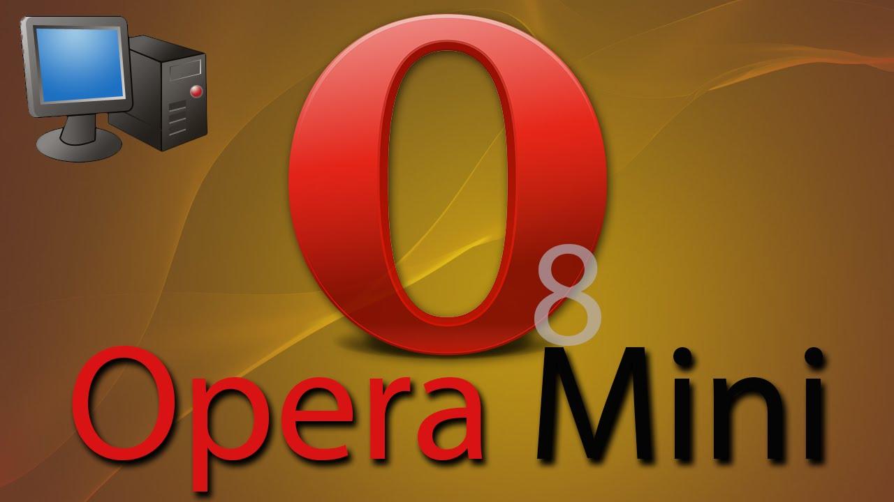 Opera Mini 8 on PC - YouTube