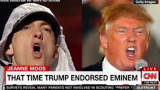 That Time Trump Endorsed Eminem & hip hop used to be friend then he became president