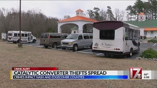 Catalytic converter thefts spread to Nash, Edgecombe counties