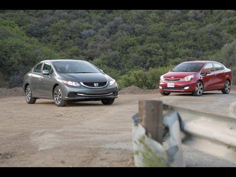 Honda Civic vs Kia Rio Best Cars for 20k Edmunds.com