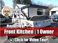 2017 Rockwood A215HW Front Kitchen Hardside A-Frame Popup Fold Down Used Camper