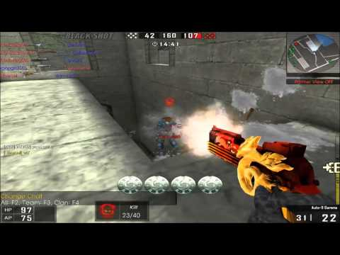 Blackshot Gameplay Part 32 - Auto 9 Garena OP Pistol