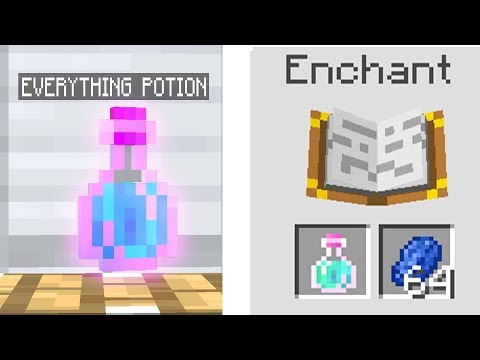 ENCHANTING EVERY STEVES POWER POTION IN MINECRAFT!