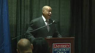Perry Watson University of Detroit-Mercy Hall of Fame Speech