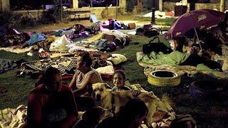 A szabad ég alatt töltötték az éjszakát Kósz szigetén