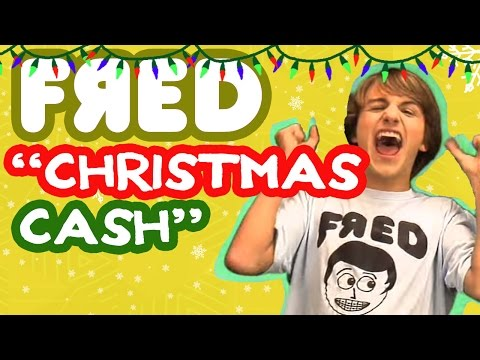 """Christmas Cash"" Music Video - Fred Figglehorn"