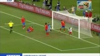 Spanien-Schweiz 0-1 Tore & Highlights
