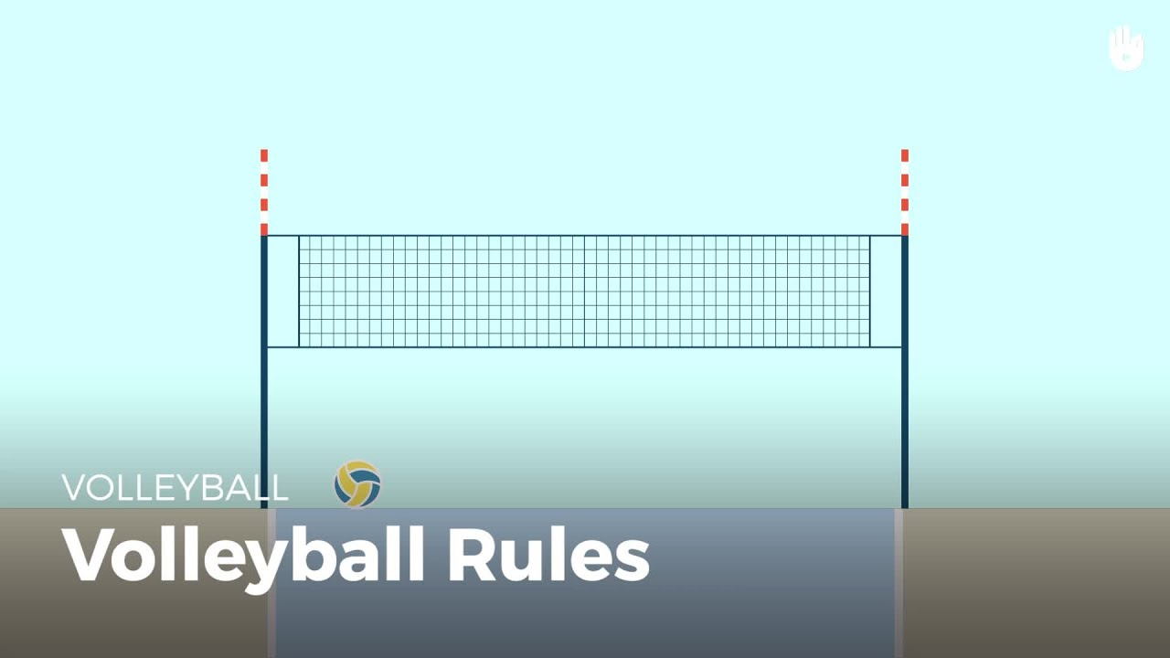 Volleyball Rules Volleyball Youtube