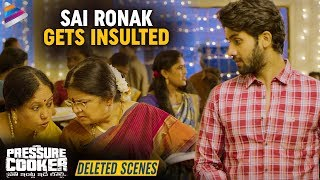 Sai Ronak Insulted By A Lady | Pressure Cooker Movie Deleted Scenes | Rahul Ramakrishna