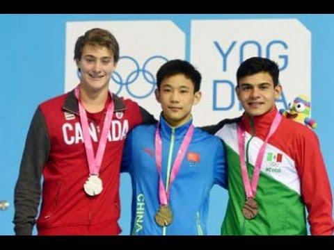 Yang Hao stroms to gold in men's 10m platform