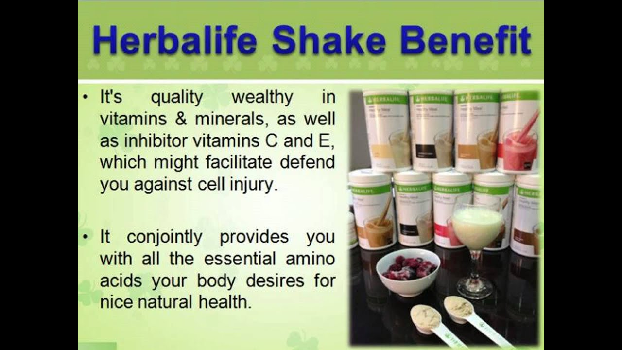 How to Make the Perfect Herbalife Shake Recipes - YouTube