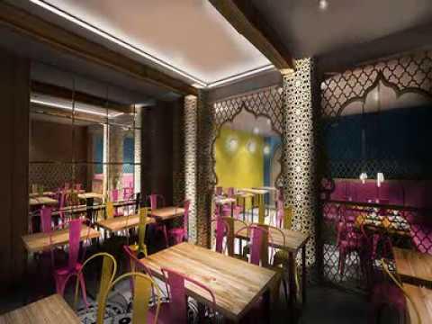 Indian restaurant interior design photos Bbq restaurant ...