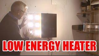 Low watt space heater EASY BUILD