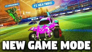 BRAND NEW ROCKET LEAGUE GAME MODE FOR 3 PEOPLE!