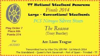 TT Steelband Panorama 2014 - Large Finals. Silver Stars - The Reason (Arr by Liam Teague)