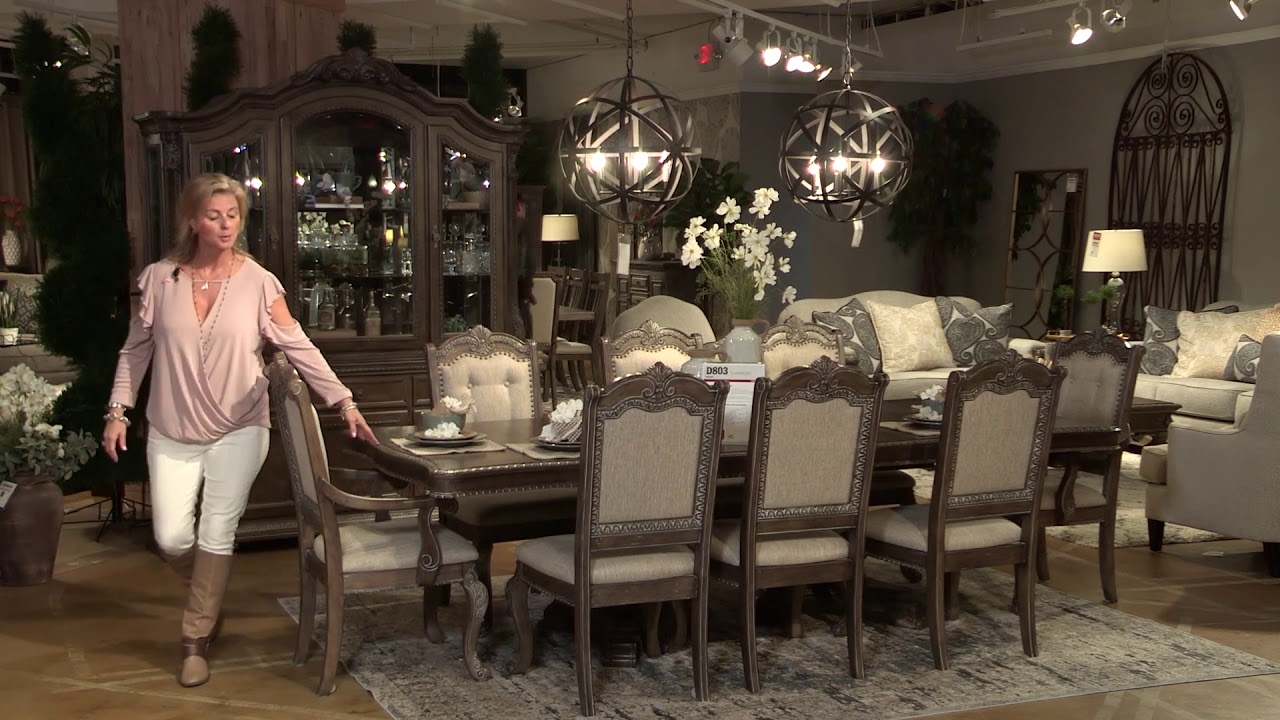 Charmond Dining Collection From Signature Design By Ashley Youtube