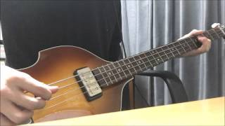 The Beatles / Please Please Me Bass Cover
