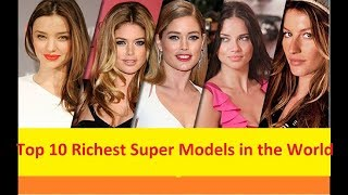 Gambar cover Top 10 Richest Super Models in the World Highest Paid Models