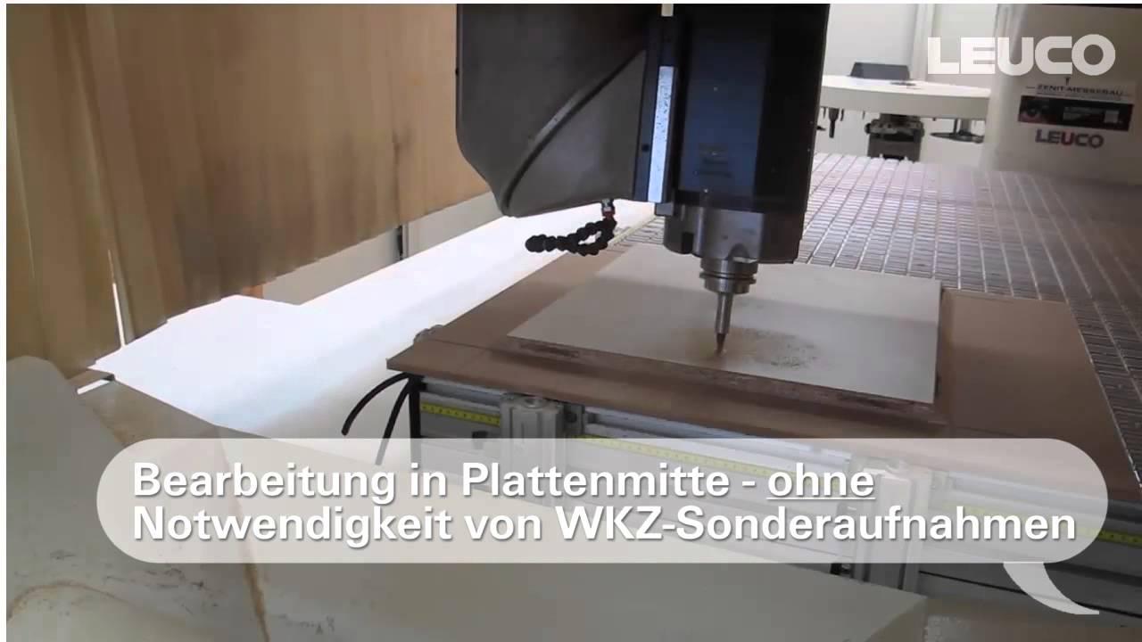 Fräsen Von Lamello Clamexp Verbindungen Mit Leuco Werkzeugen Und Licom Alphacam Makro