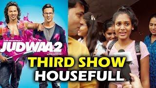 Judwaa 2 public review   full-packed third show   gaiety galaxy housefull