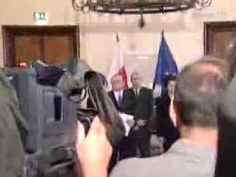 Wiadomości TVP1   Lech Kaczyński prezydentem