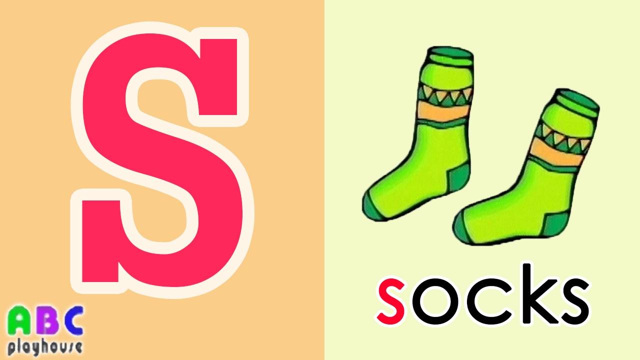 【中英字幕】ABC教學 第47集 Socks|單字A-Z|YOYO|ABC Playhouse|兒童英文教學Learning English For Kids - YouTube