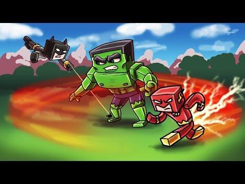Minecraft | WHO IS THE STRONGEST SUPERHERO IN THE WORLD? (Superhero Challenge)