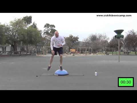 SickFit: Fit In 15 15 Minute BOSU Trainer HIIT Workout
