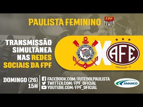 Corinthians 3 x 0 Ferroviária - Paulista Feminino 2018 - YouTube d286248392