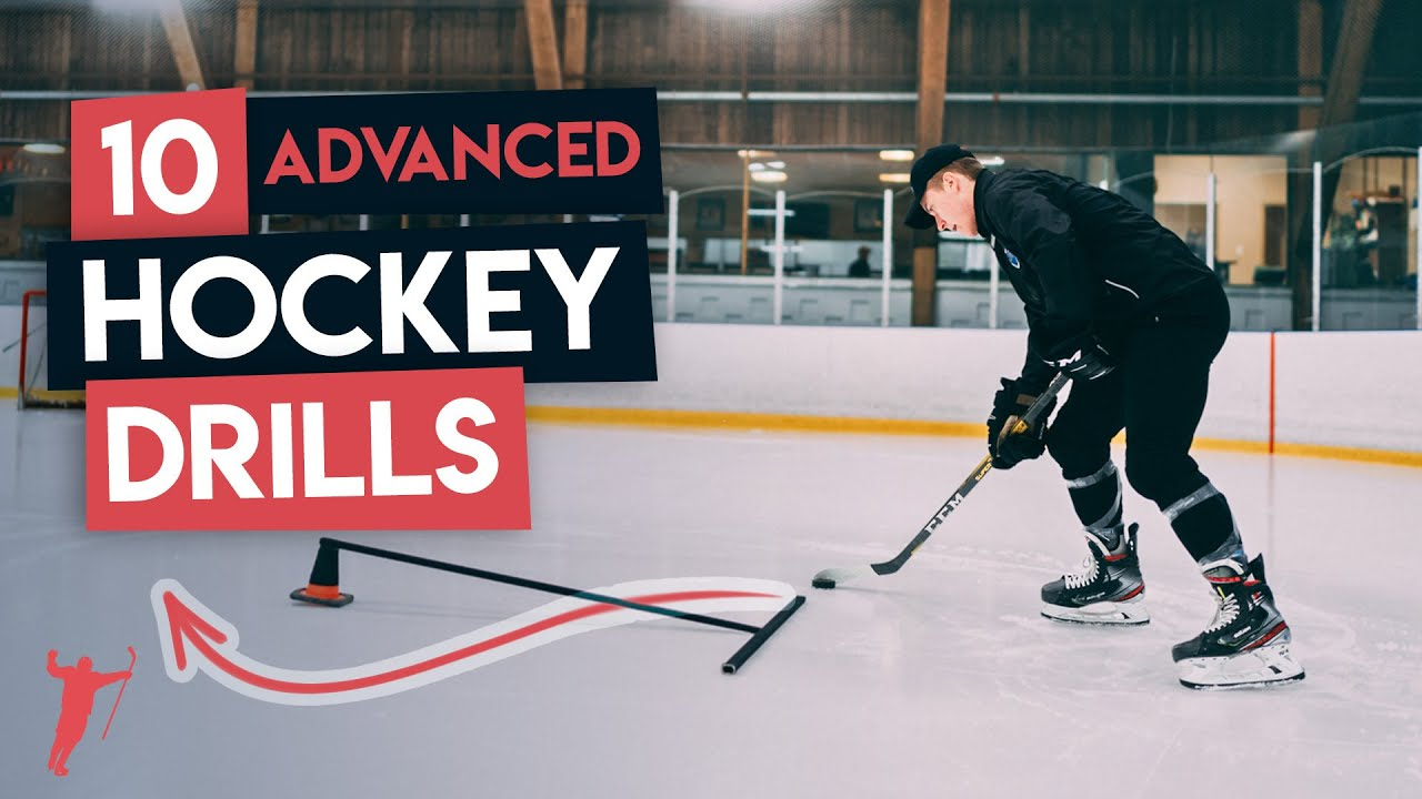 10 ADVANCED HOCKEY DRILLS TO TRY 🏒