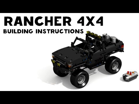 Lego Technic Rancher 4x4 Building Instruction Youtube