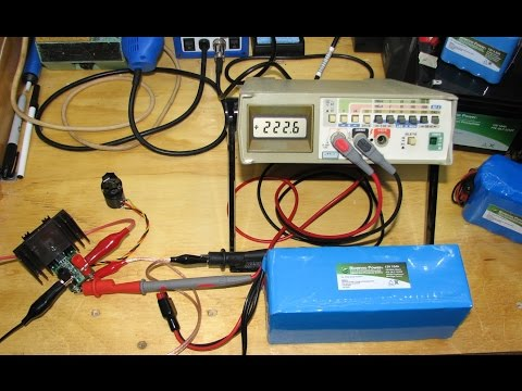 Lithium  Battery Pack Test