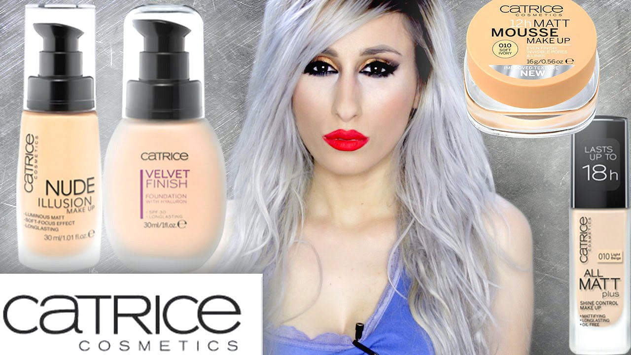 catrice foundations review demo nude illusion all. Black Bedroom Furniture Sets. Home Design Ideas