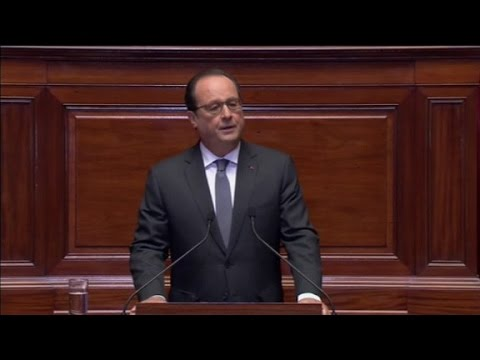 Francois Hollande: 'France is at war'