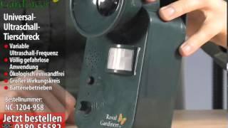 Royal Gardineer UniversalUltraschallTierschreck (batteriebetrieben)